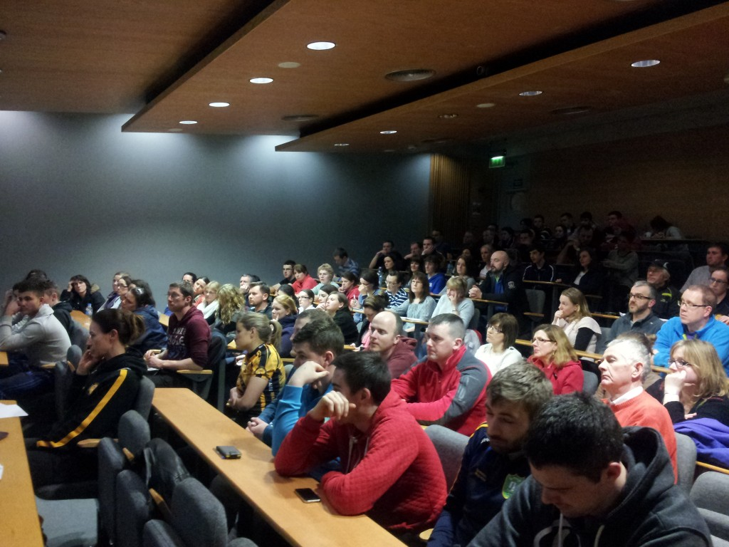 Audience at Sports Nutrition Lecture