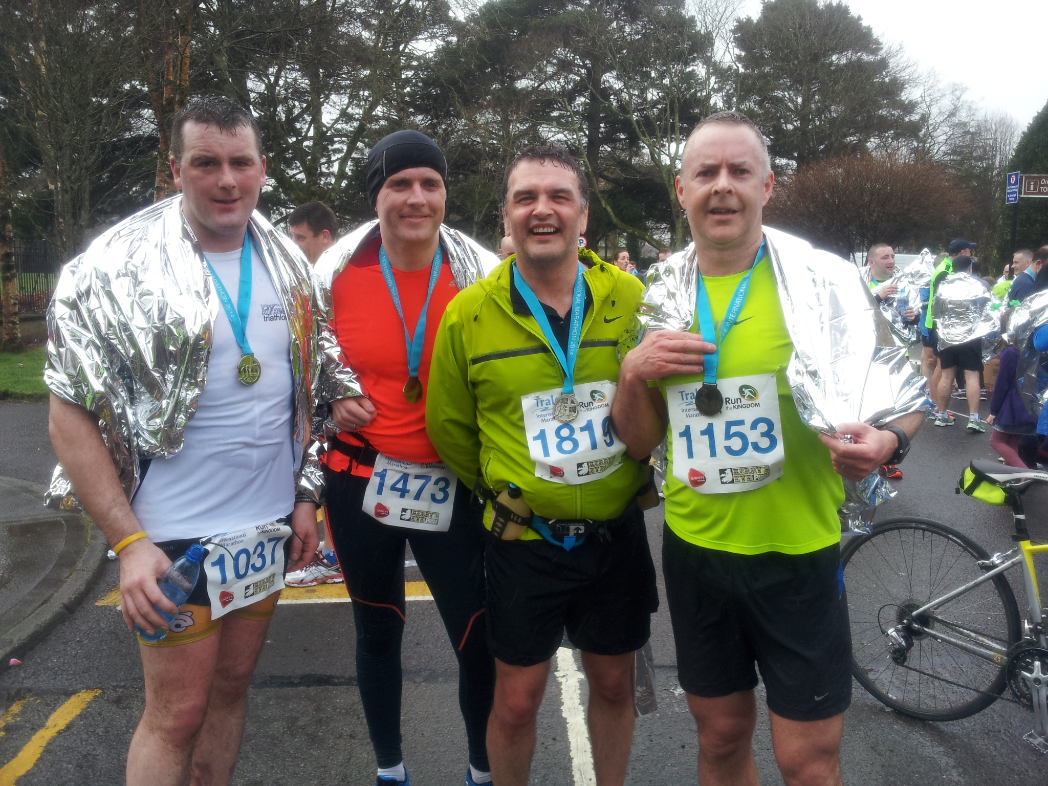 Tralee Tri Club Half Marathoners