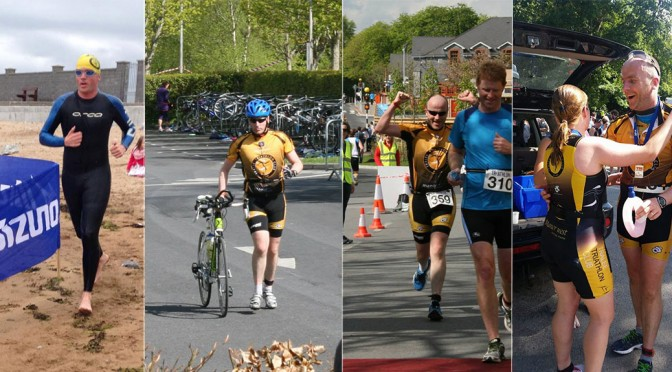 My First Triathlon Season
