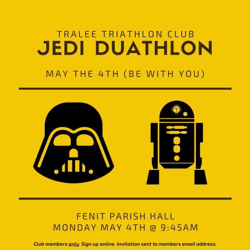 Jedi Duathlon, 4th May 2015