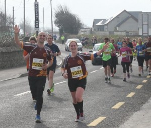 Tralee half marathon march2015