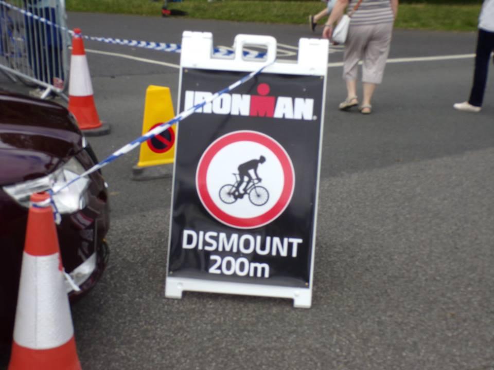 ironman dismount